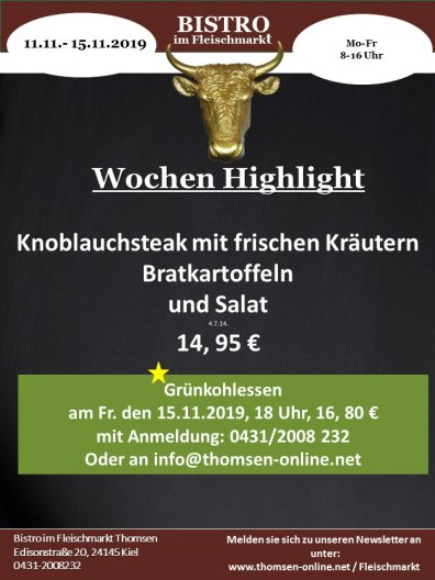 Wochen Highlight KW46